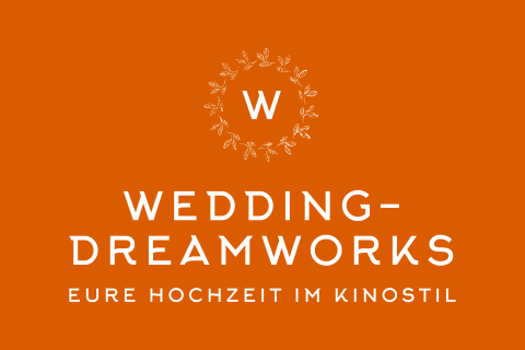 Wedding-DreamWorks, Hochzeitsfotograf · Video Frankfurt, Logo